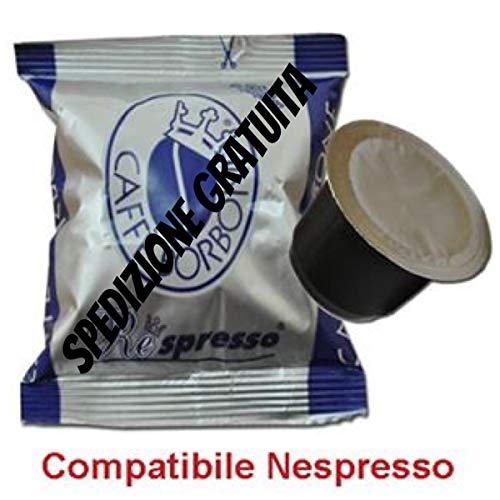 200 Caffe Borbone Nespresso Kompatibel Kapseln Mischung Blau