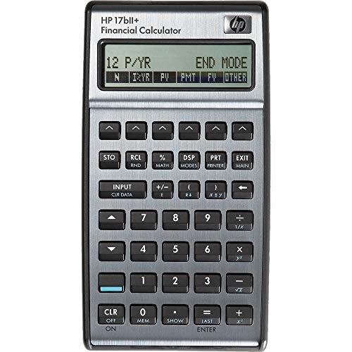 HP-17 B II Plus Hewlett Packard Finanzrechner Eingabelogik: Algebraisch / UPN