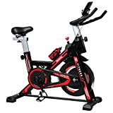 iHomey Indoor Cycling Bike Stationary Exercise Spin Bike with Super-soft Seat, LCD Display, Ipad Mount for Home Gym Cardio Workout