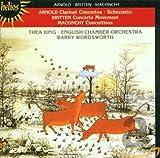 Clarinet Concertos by Arnold, Britten & Maconchy