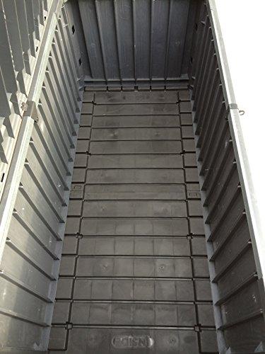 Keter Cabinet Mehrzwecktruhe Gartentruhe, 570L, 155×72,4×64,4cm - 7