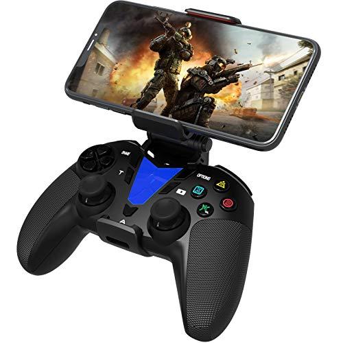 DarkWalker Wireless Bluetooth Controller, Mobile Controller für iOS 13 oder höher Unterstützt MFI-kompatible Spiele - Android 10 Cloud Gaming Unterstützung Xcloud Stadia Shadow - PS4