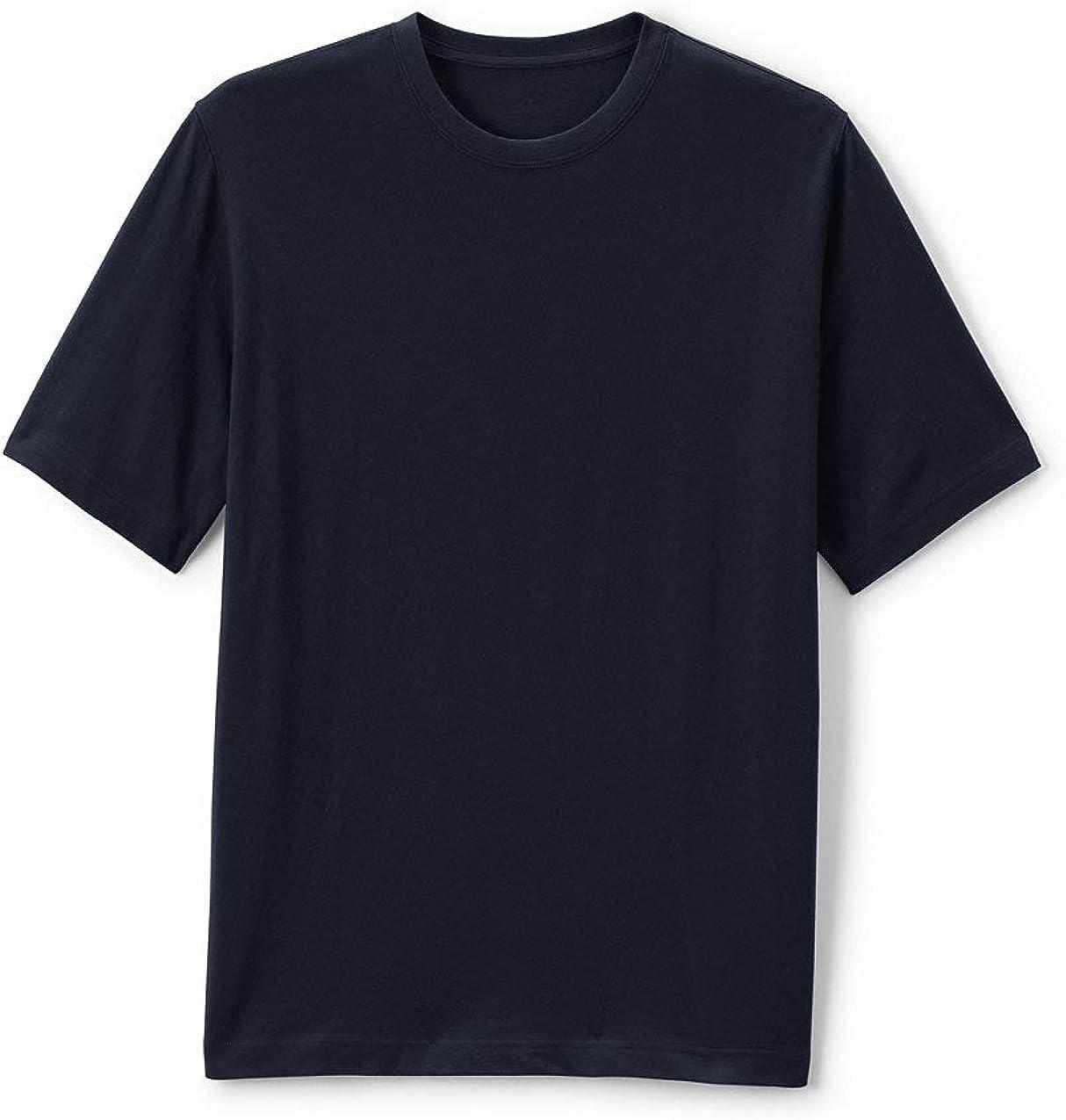 Lands' End School Uniform Men's Short Sleeve Essential T-Shirt