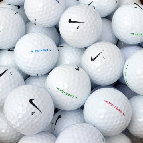 Second Chance Nike PD, Set 100 Palline da Golf, Categoria A Unisex, Bianco