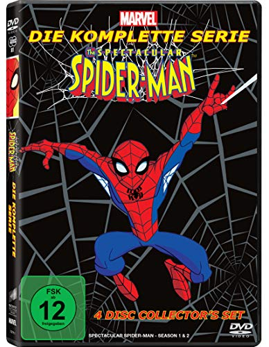 The Spectacular Spider-Man - Die komplette Serie [4 DVDs]