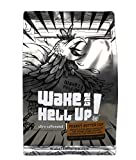 Wake The Hell Up! Ground Coffee | Ultra-Caffeinated Peanut Butter Cup Flavored Coffee in a 12-Ounce Reclosable Bag | The Perfect Balance of Higher Caffeine & Great Flavor