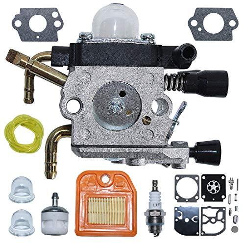 AUMEL 4237 120 0606 Vergaser Reparatursatz Für Stihl HS81 HS81R HS81RC HS81T HS86 HS86R HS86T Heckenschere Teil W/Luft Kraftstofffilter Kraftstoffleitung Zündkerze