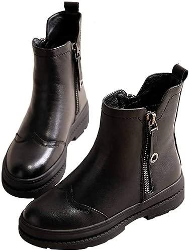 Miss Li Damen Stiefel Loafer Flats Damen Leder Stiefeletten Schlichtes Und Stilvolles Design