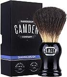Pennello da barba Camden Barbershop Company ● Vegan Badger 2.0 ● per la rasatura con schiuma e pennello ● setole vegane di tasso