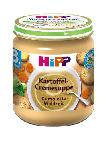 Hipp Kartoffel-Cremesuppe, 6er Pack (6 x 200 g) - Bio