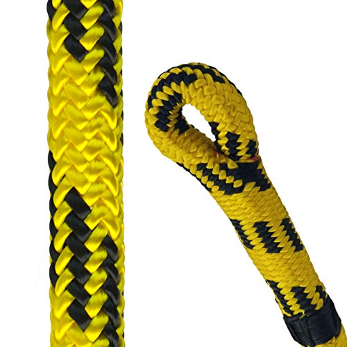 Pelican Rope Arborist24 7/16 inch 11mm Climbing Rope  7000 lb Tensile Strength  24Strand Lightweight Tree Rope for Climbing  Tree Pulling Rope  120 ft