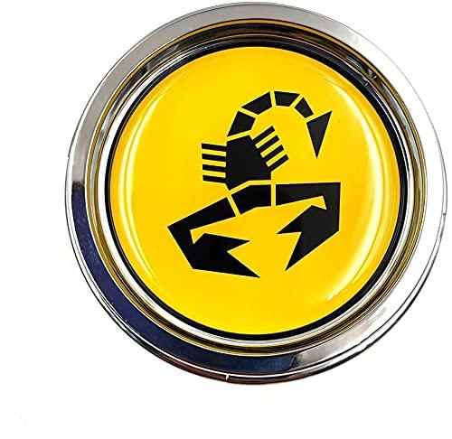 Coche Tapacubos Central Tapas Centrales Para Fiat 500 Abarth Car Styling Rims Cover, Wheel Cubiertas Caps Center Prueba Polvo Aleación Coche Estilo Accesorios