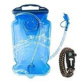 JNUYISW Camelbak Lobo, 2l Versión Actualizada Camel Bag Ciclismo Impermeable Bolsa Agua A Prueba De Fugas para Deporte Y Ocio