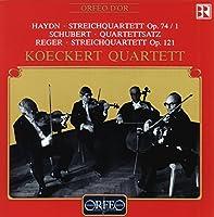 弦楽四重奏曲集 (Koeckert Quartett)  [Import]