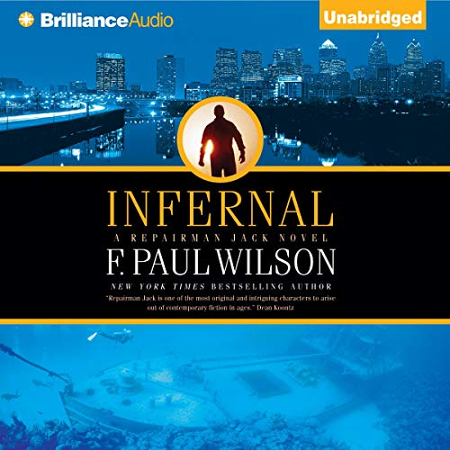 Infernal audiobook cover art