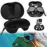 BestYT 4 + Máscara de buceo Scuba Gafas Protector Funda Organizador Caja Contenedor para GoPro 3
