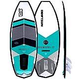 Driftsun Throwdown T2 Wakesurf Board - 4' 8' Length Custom Surf Style Wakesurfer, Quad Futures Fin Set Included