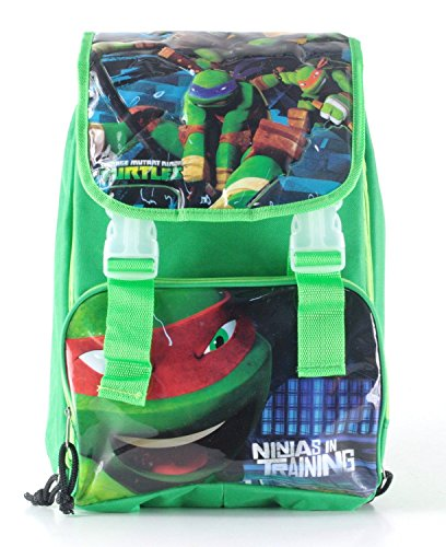 ZAINO ESTENSIBILE TEENAGE MUTANT NINJA TURTLES SCUOLA 2015 CM 38X26X10 (+8)