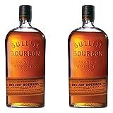 Bulleit Bourbon Frontier Whisky, 2 unidades, Kentucky Straight Bourbon Whiskey, bebidas alcohólicas, alcohol, botella, 45 %, 700 ml, 749201