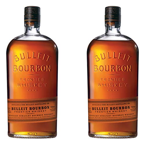 Bulleit Bourbon Frontier Whisky, 2er, Kentucky Straight Bourbon Whiskey, Alkoholgetränk, Alkohol, Flasche, 45%, 700 ml, 749201