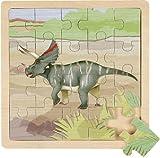 Wild Republic Puzzle de Madera con diseño de Museo de Historia Natural (20 Piezas)