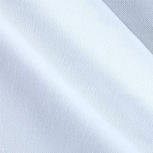 Ben Textiles 0450661 Double Knit Solid White Fabric by the Yard