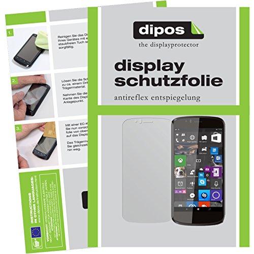 dipos I 6X Schutzfolie matt kompatibel mit Archos 50 Cesium Folie Bildschirmschutzfolie