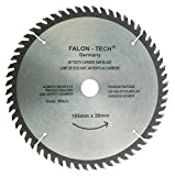 Hoja de sierra circular para madera (185 mm, 60 dientes)