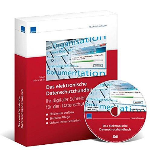 Das elektronische Datenschutzhandbuch, CD-ROMIhr digitaler Schreibtisch für alle Aufgaben im Datenschutz. Effizienter Aufbau - Einfache Pflege - Sichere Dokumentation. Laufzeit bzw. Nutzungsdauer ohne Updates/Ergänzungen: 12 Monate