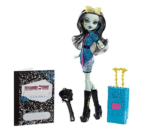 Mattel Monster High Y7659 - Scaris Deluxe Frankie Stein, Puppe