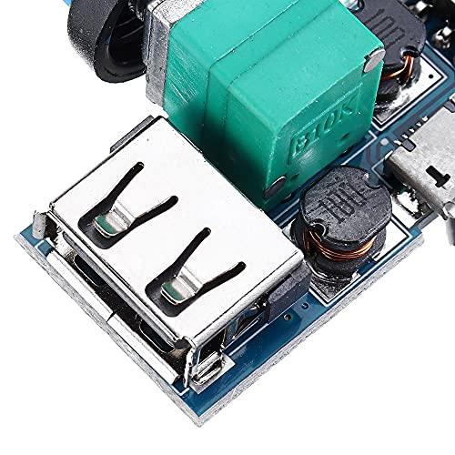 Módulo electrónico DC 4-12V Módulo del Controlador de Velocidad del Ventilador USB Reducción de Ruido Multi-STALL Ajuste GOBERNADOR