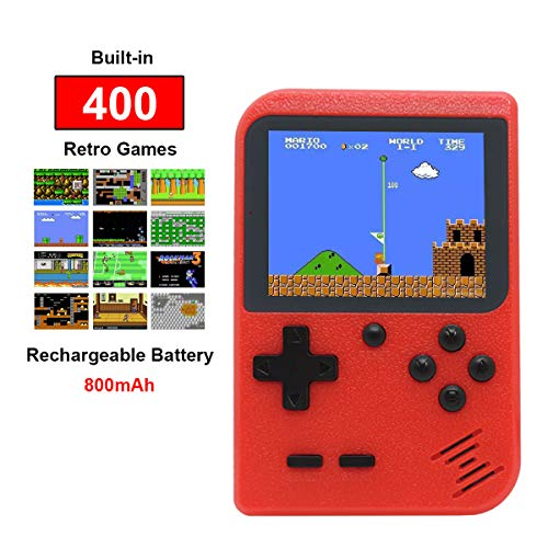 Kids Retro Handheld Games Console with 400 Classic NES...