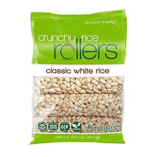 Bamboo Lane Crunchy Rice Rollers: 3.5oz 8 Packs of 8 Rollers