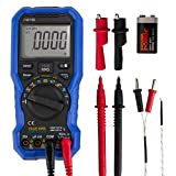 Pawmate Bluetooth Digital Multimeter,20000 Counts Multimeters, Voltmeter Ammeter Ohmmeter Circuit Checker with Backlight LCD Test Leads,Portable Multi Tester Measures Voltage Current Resistance