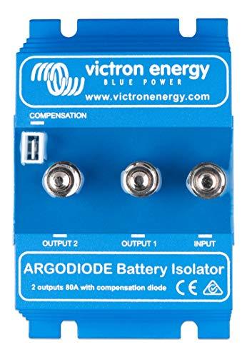 Victron Energy Argo 80-2SC ARG080202000R Batterietrenner, 2 baterías 80A, sin entrada Alternador Energice