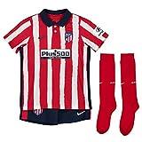 NIKE ATM LK NK BRT Kit Hm Football Set, Unisex niños, Sport Red/Midnight Navy Full Sponsor, M