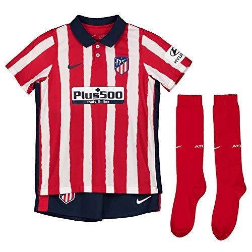 NIKE ATM LK NK BRT Kit Hm Football Set, Unisex niños, Sport Red/Midnight Navy Full Sponsor, XL