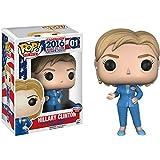 Funko Hillary Clinton: - Figura de vinilo para el camino a la casa blanca x POP! The Vote & 1 paquete protector gráfico de plástico PET [#001 / 10532 - B]