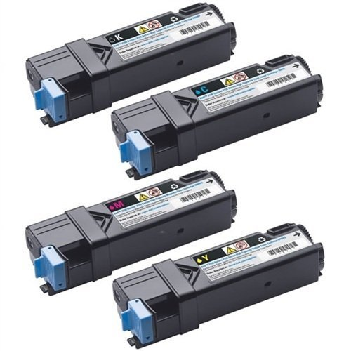 Global Cartridges Compatible Toner Cartridge Replacement for Dell 2130 2130CN 2135 2135CN - 330-1436 330-1437 330-1433 330-1438