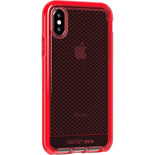 tech21 - Evo Check Case for Apple iPhone Xs - Rouge