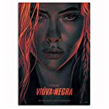 DNJKSA Black Widow Movie Poster Scarlett Johansson New