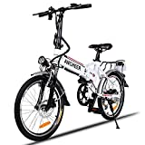 ANCHEER Elektrofahrrad, Faltbares E-Bike Faltrad, 20/26...