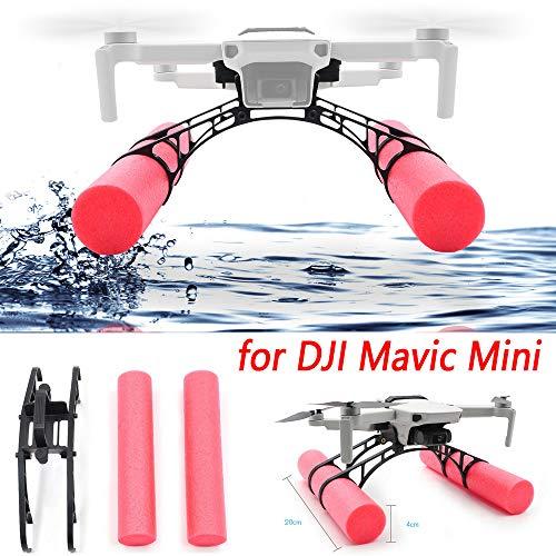 CHshe 1Pc Palo de Flotabilidad para dji Mavic Mini RC Drone Kit Flotante de Extensión de Tren de Aterrizaje Soporte Fijo Aterrizando En El Agua 200X40M