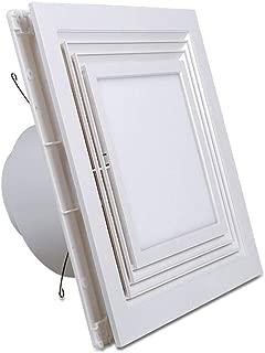 Moolo Ventilador, iluminación LED Techo Tipo Dos-en-uno baño Cocina Aire Extractor