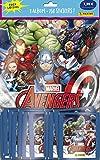 Panini France SA-1 - Álbum y 50 Fundas para Libros de Recortes, 2020 Avengers Secret War...