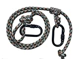 ZOOK Adjustable Lineman's Rope 1.0 | Hunting Safety Line | Trees Stand Harness Rope | Treestrap | Climbing