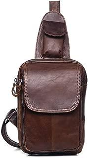 Mens Bag 3 Color,Man's Leather Single Shoulder Multi-function Messenger Handbag Shoulder Bag High capacity