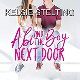 Abi and the Boy Next Door audiobook cover art