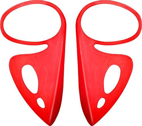 arena Kinder Schwimm Atemhilfe zum verbesserten Kraulen - Freestyle Breather Kit Junior, Fluo Red, 6-12 Jahre, 1E052