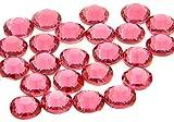 EIMASS Strass di Grado A con retro piatto per costumi, custodie del cellulare, oggetti personali-7747 - ss20 (4.8mm), 100 x Rosa Acceso